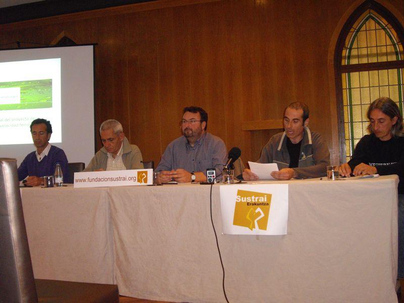 Rueda de prensa de presentación del informe, foto 2