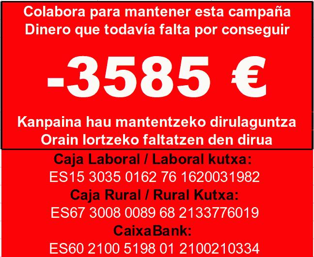 Contador ayuda económica campaña vallas, empezó en 4.000€...