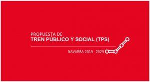 Portada de la propuesta de Tren Público y Social revisada